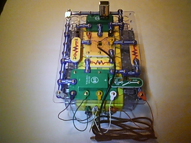 Picture of Dance Dance Roverbot! Build a Light Activated Dancing Snap Circuits Programmable Robot.