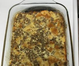 Sausage Souffle