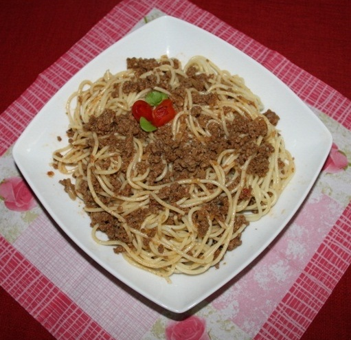 Picture of Spaghetti in Minced Meat