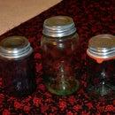 Cleaning Zinc Lids for Mason Jar Displays