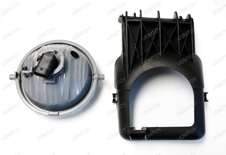 Picture of Slightly Pull Apart the Stock Bezel to Release the OEM Fog Lights.