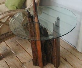 Awesome Table From a Stump