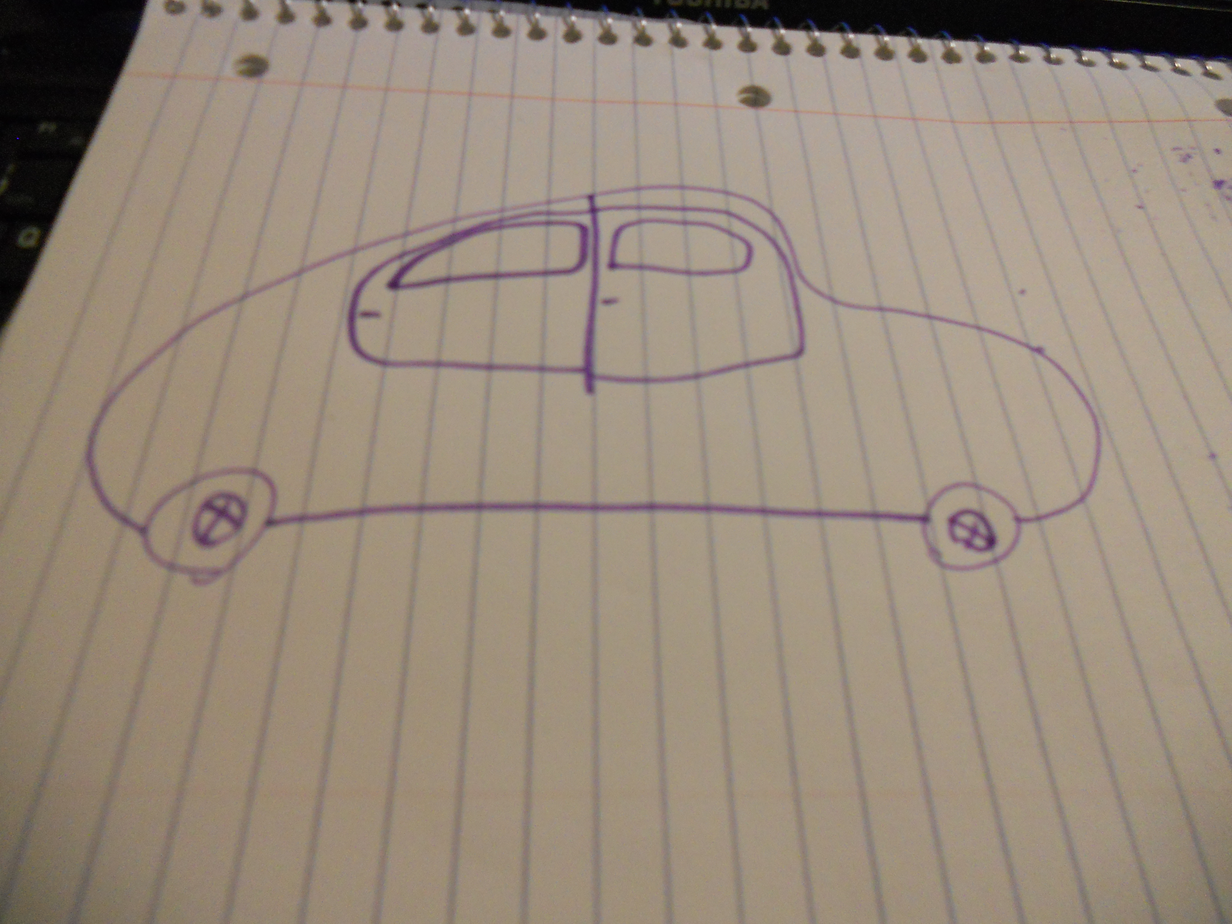 """Picture of How to Draw a """"cartoon Buggy"""""""