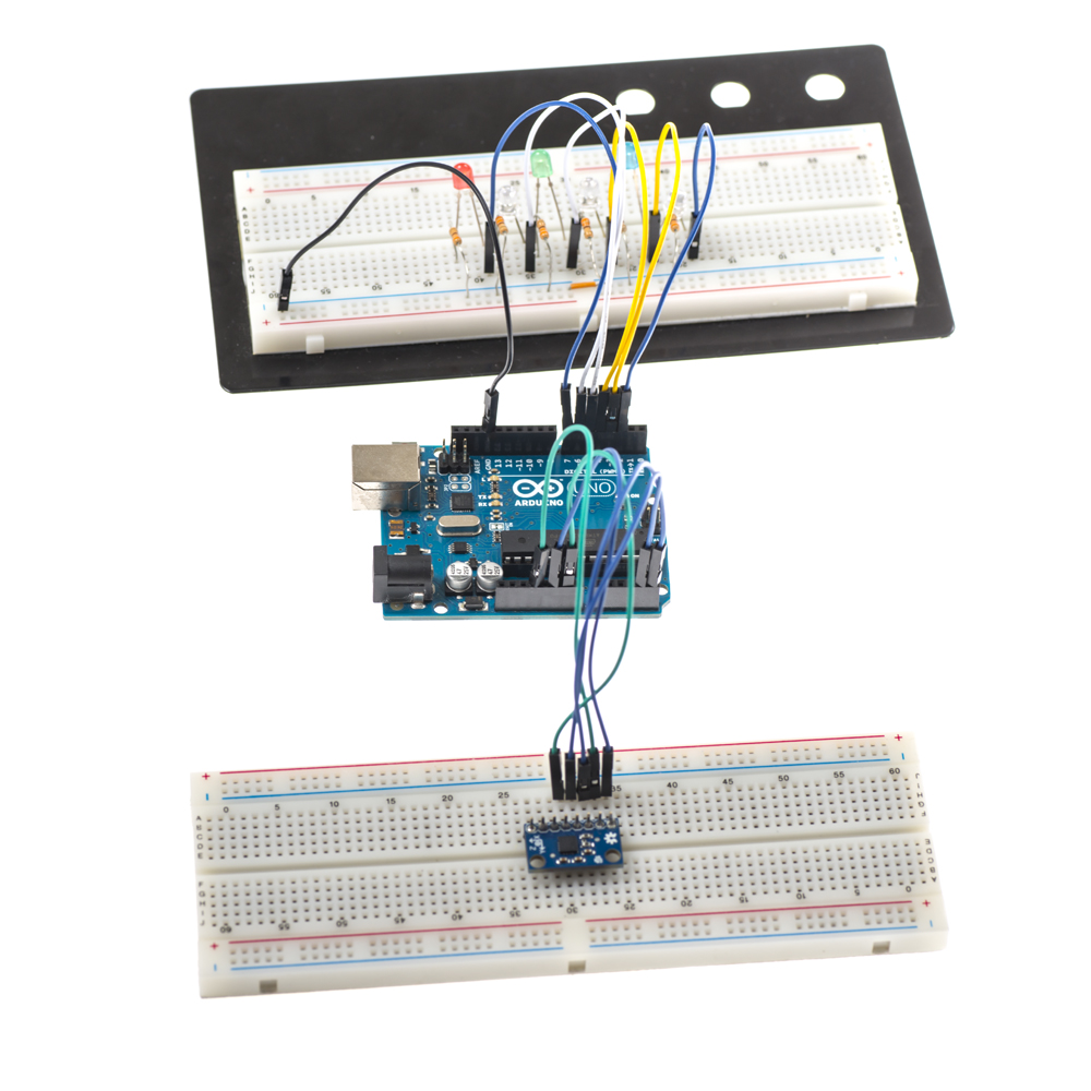 Picture of Learning About the L3GD20 Breakout Board