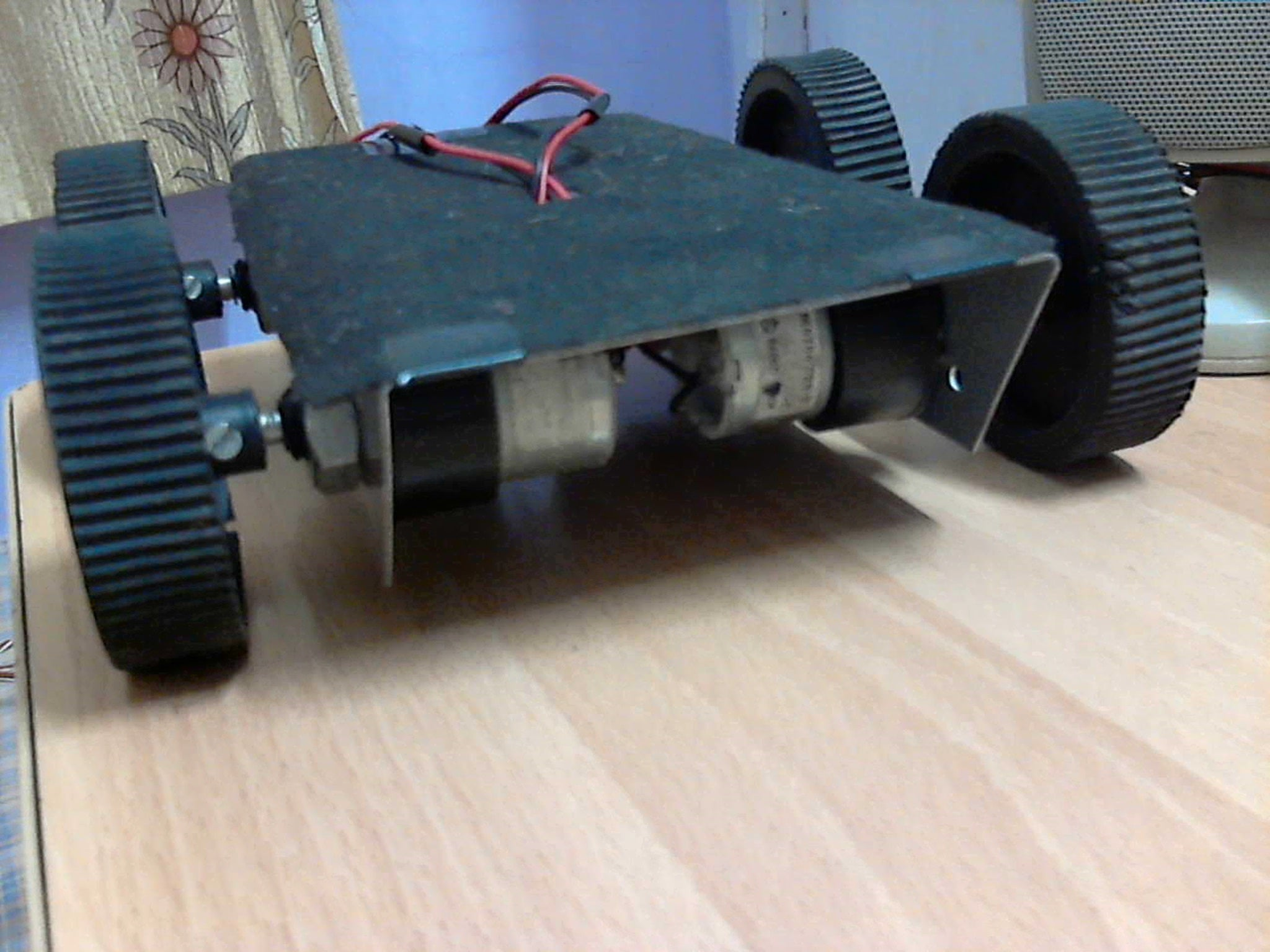 Wired Control Robot Manual 9 Steps With Pictures Reversing Motor Wiring Diagram For Dpdt Switch Engine