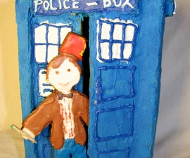 How to Make a Gingerbread Tardis (with Doctor)