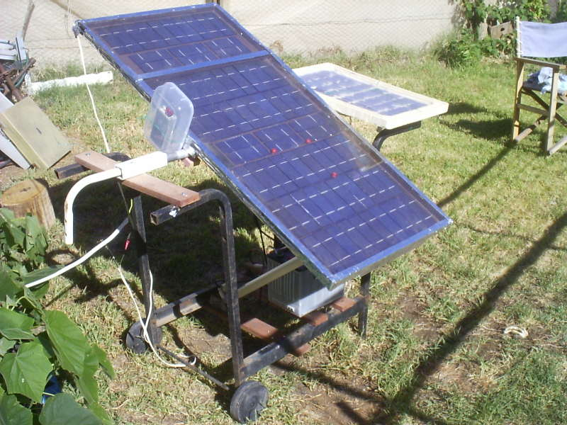 Picture of The LED Solar Tracker.