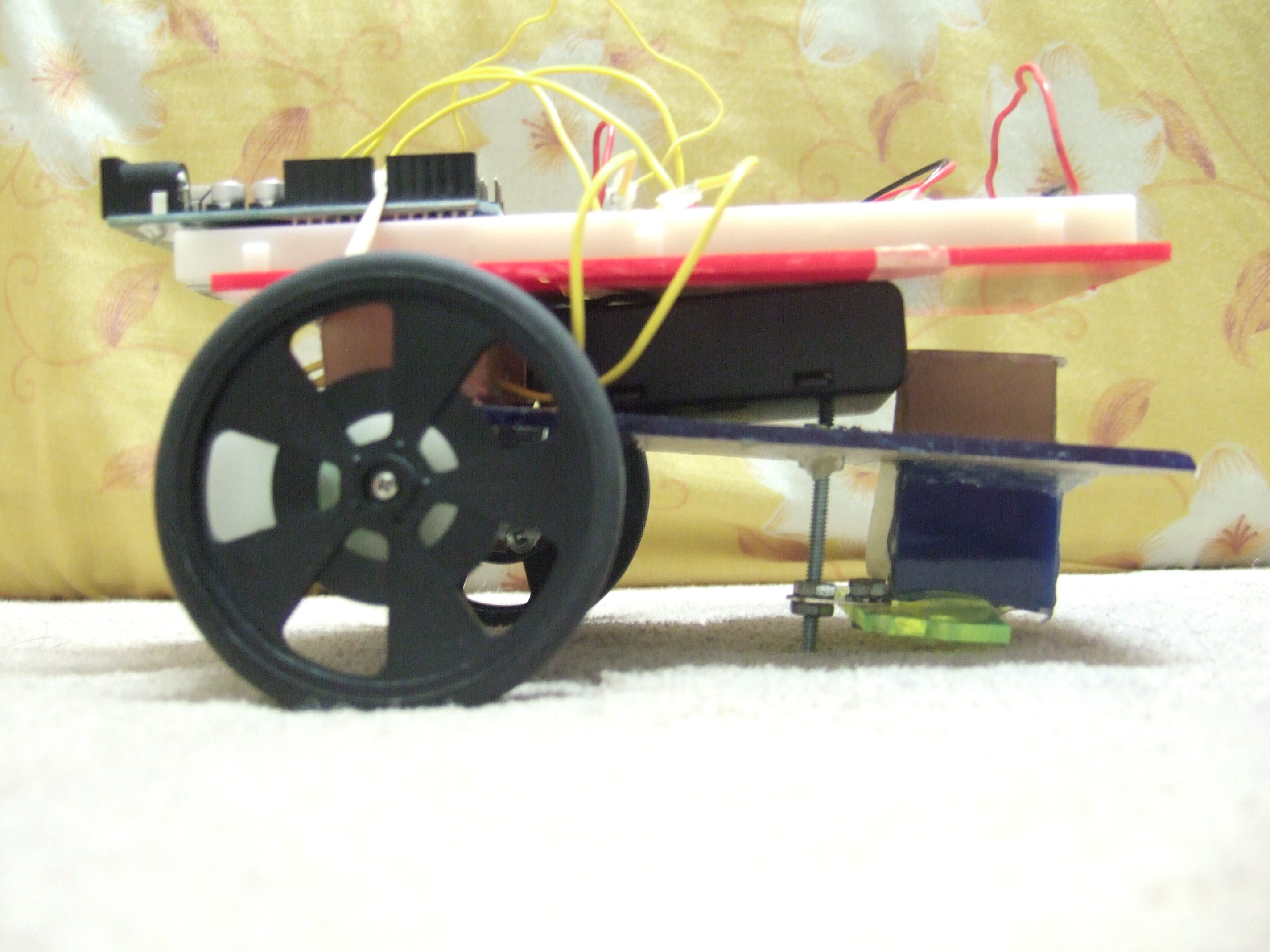 Picture of Arduino Controlled L293D Robot ( Part 1 - Update 1.0 )