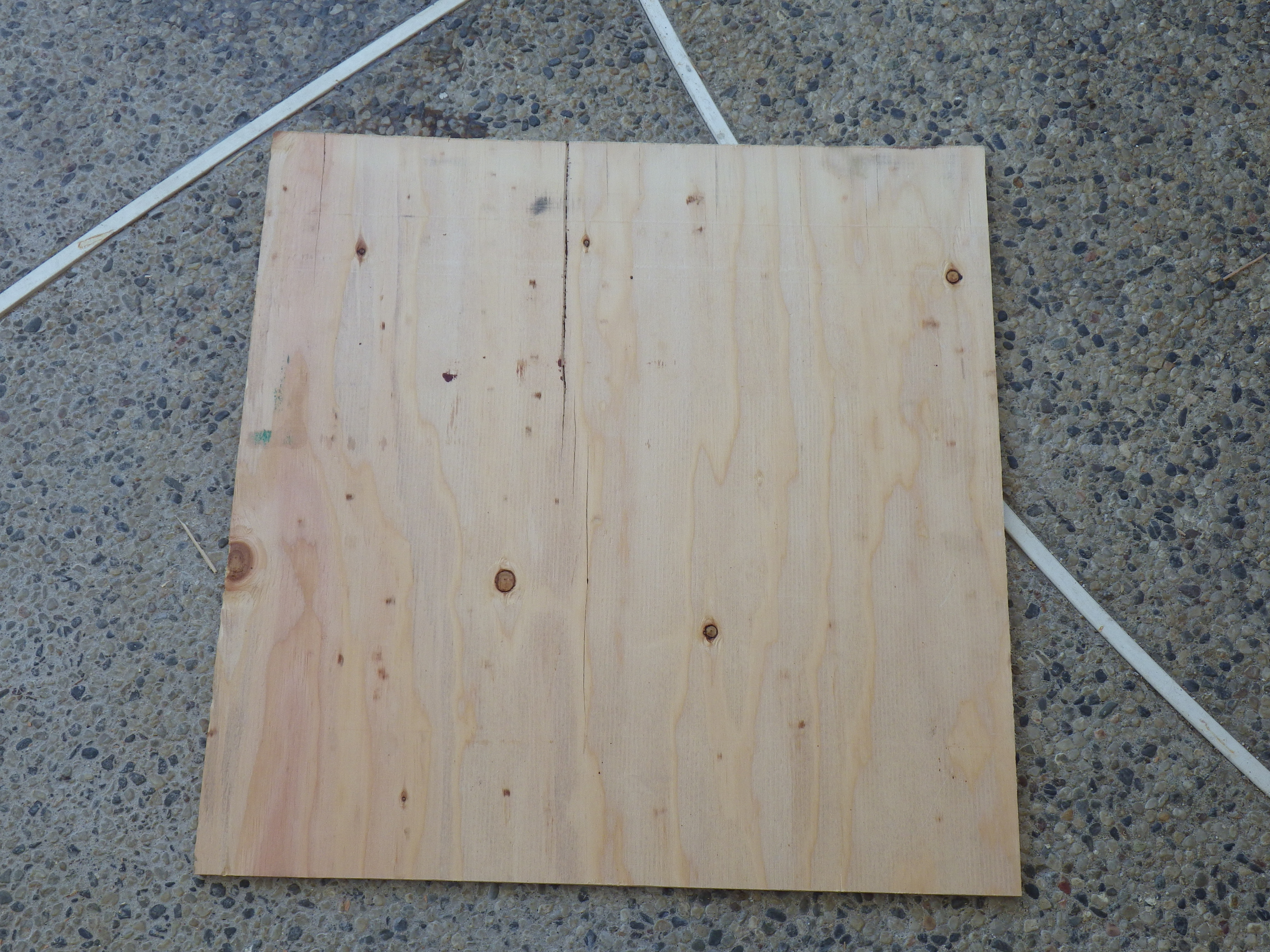 Picture of Cutting the Outter Box Parts