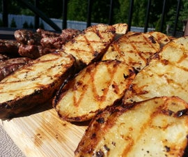 Easy Japanese Grilled Potatoes