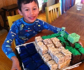 Yet Another Minecraft Cake