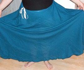 "One Seam or ""Half Circle"" skirt"