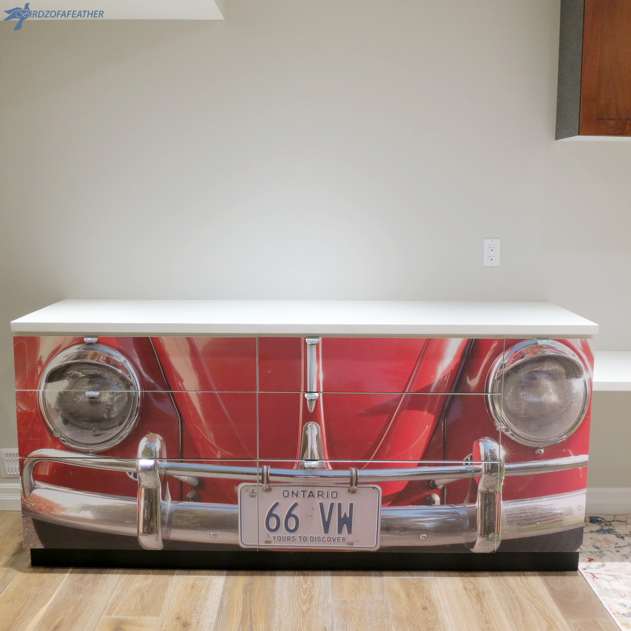 Picture of Reclaimed VW Desk: a Unique Gift!