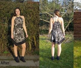 Redesigned Thrift Shop Dress