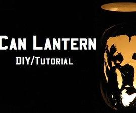 Beer Can Lantern    DIY Tutorial