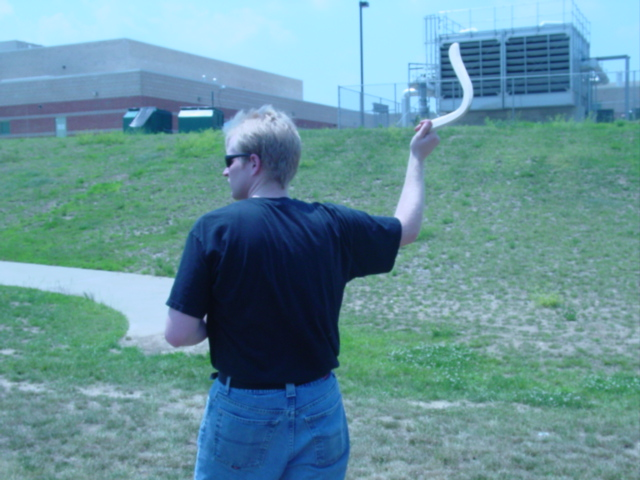 Picture of Throwing Your Boomerang