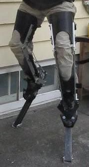 Werewolf Stilts, Digitigrade Legs.