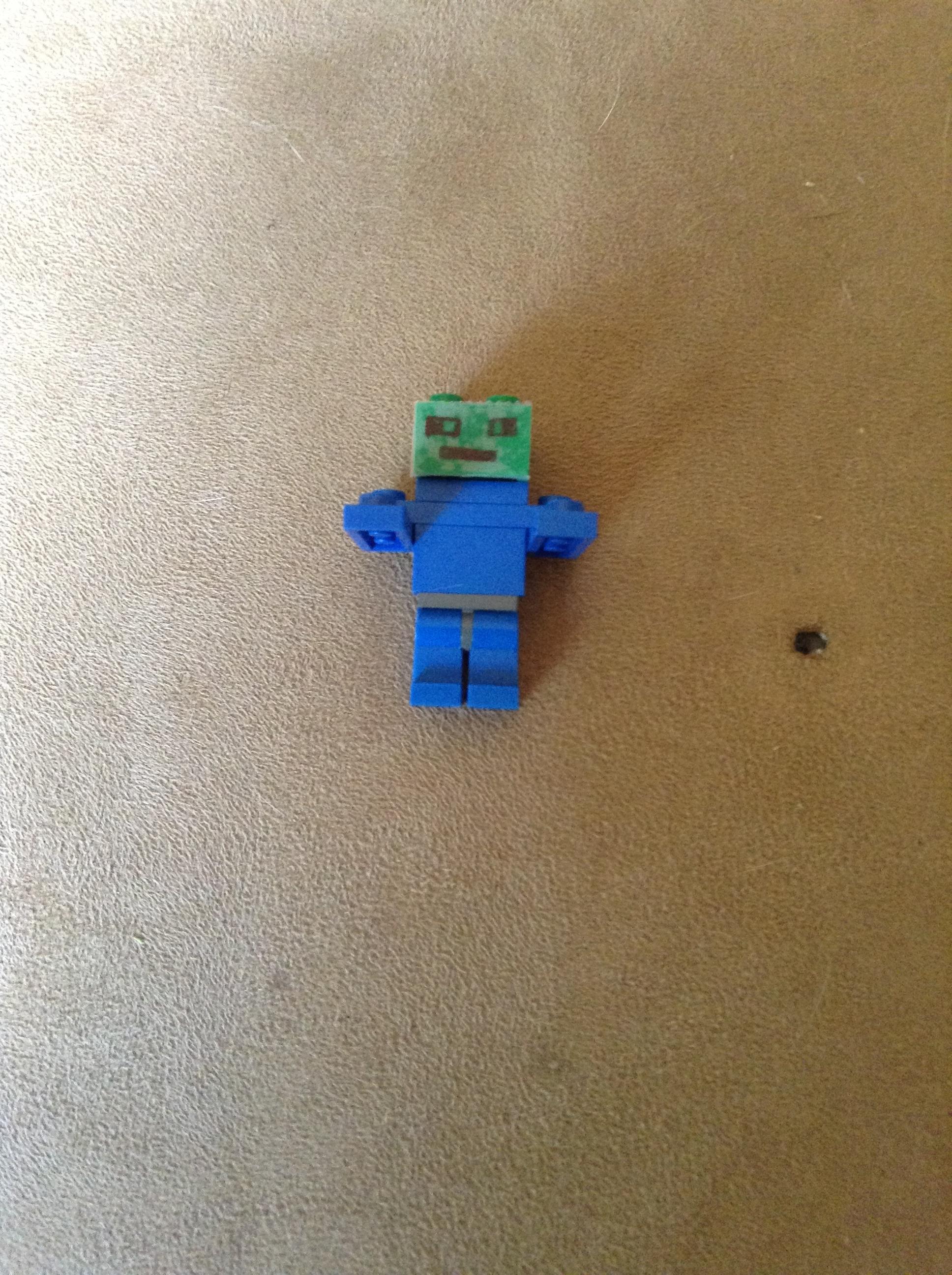Picture of Zombie Man/Steve Destruction Atone