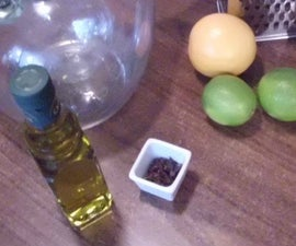 Homemade citrus and clove mosquito repellent oil