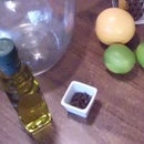 Homemade citrus and clove mosquito repellent oil