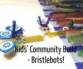 Community Kids' Build: Bristlebots!