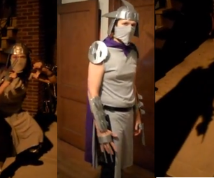 Duct Tape TMNT Shredder Costume for $8.11