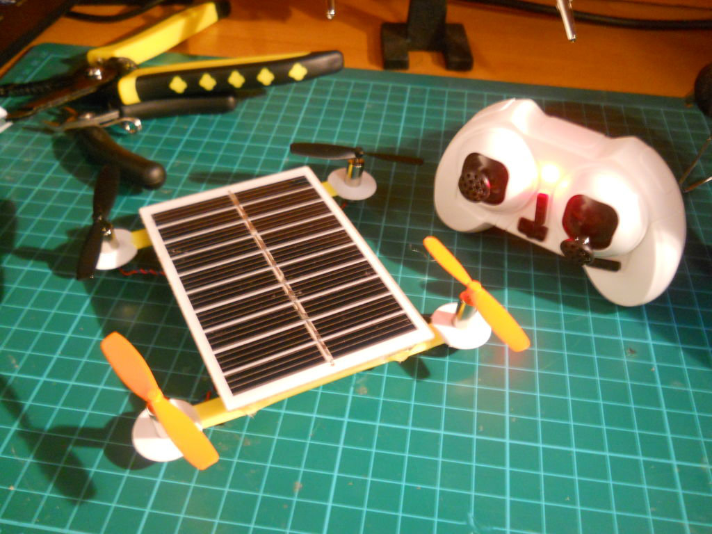 Picture of Solar Powered R/C Drone