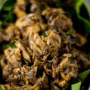 Shredded Chicken Tossed in Pepper, Curry Leaves and Ghee