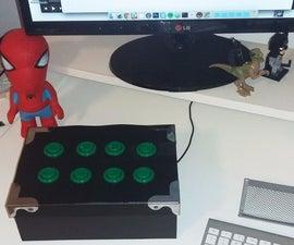 Arduino Programmable Button Panel As Keyboard