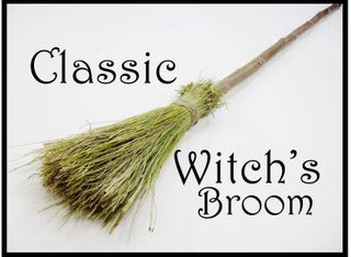 Classic Witch S Broom 6 Steps With Pictures Instructables