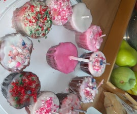 Candle Cupcakes From Wax Discards