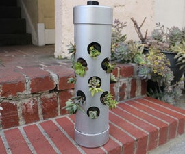 Vertical Gardening Pipe