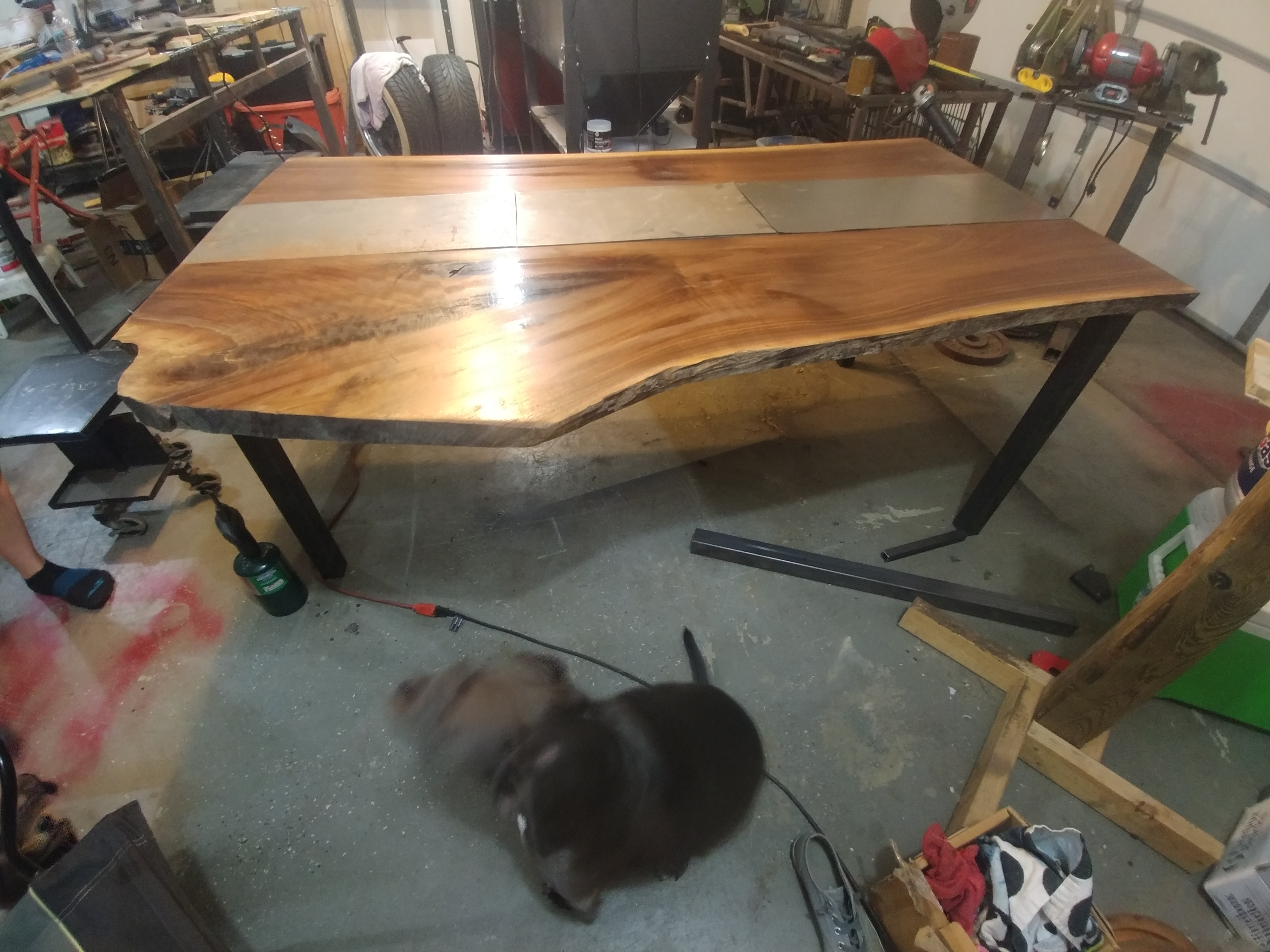 Picture of Prepping the Wood for Epoxy