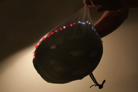 LED Stretchy Helmet Cap