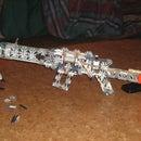 Silver Arrow K'nex Rifle