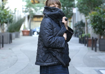 DIY Quilted Jacket With Pattern
