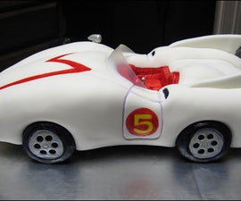 How to make a Mach 5 from Speed Racer Cake