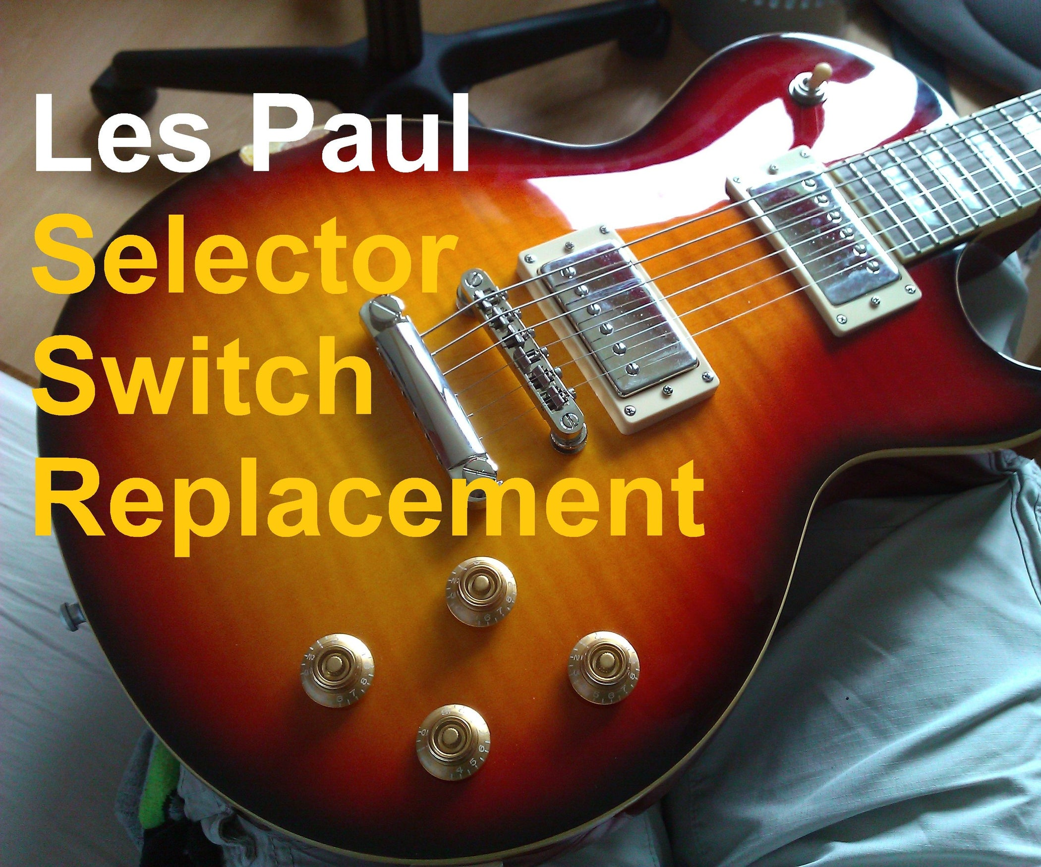 Pleasant Les Paul Switch Replacement 3 Steps With Pictures Wiring Database Gramgelartorg