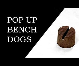 Rubber Band Powered Bench Dogs