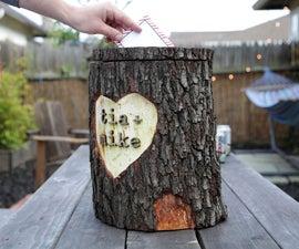 Log card box