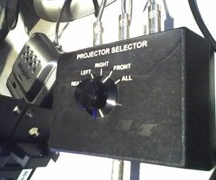 Wired Multi-projector Remote