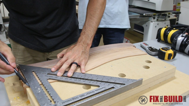 Picture of Cut the Board to Size and Prep for Finish