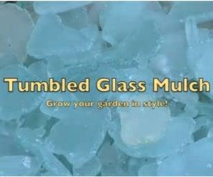 MAKE YOUR OWN SEA-GLASS MULCH!