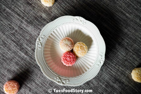 Ice Skin Mooncake With Chinese Custard
