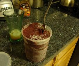 Ghetto Ice Cream / Sorbet Maker