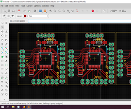 Simple Way to Make Panelize PCB in Eagle Cad