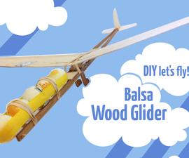 Balsa Wood Glider