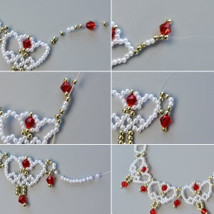 Finish Making the Middle Part of the Necklace