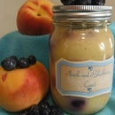 Peach and Blueberry Curd