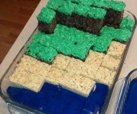 Minecraft Crispie Treats